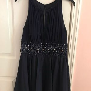 Navy Homecoming Dress: Beautiful!!